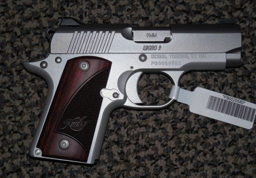 KIMBER MICRO 9 STAINLESS CARRY 9 MM PISTOL