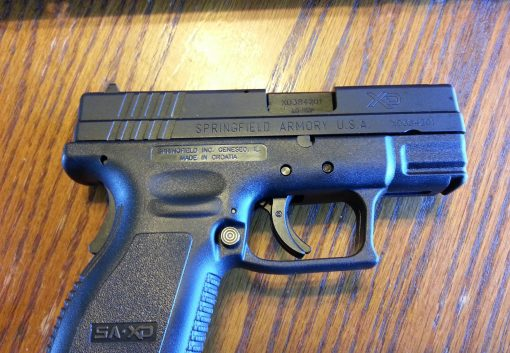 "Springfield XD 40, NIB, 40 S&W, 3"" Sub Compact, 2 Mags"