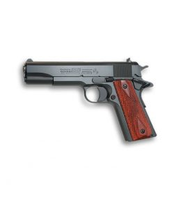 """Colt 1911 Government Series 1991, 45 ACP 5"""" Barrel, Matte Blue, Rosewood Grips, 7 Rd Mag"""
