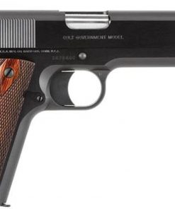 """Colt 1911 Government. 45 ACP, 5"""" Barrel, 7rd Mag, Rosewood Grip, Blued"""