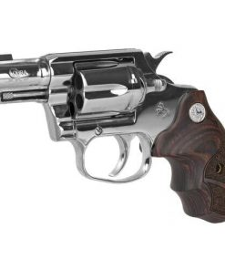 """Colt Bright Cobra 38 Special +P, 2"""" Barrel, Stainless Steel, Walnut Medallion Grips, Right Hand, Brass Bead Front Sight, 6rd"""