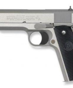 """Colt Government Delta Elite Rail 10mm 5"""" Barrel SS Brushed Finish Novak Sights 8rd Mag"""