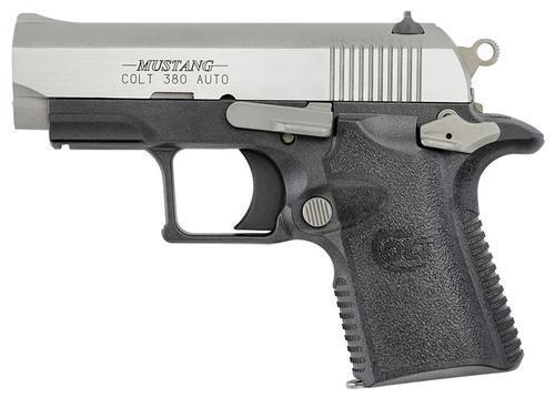 "Colt Mustang Lite Two Tone SA 380 ACP 2.7"" Barrel 6 Rd Mag"