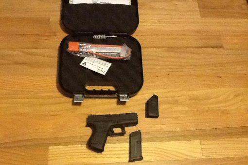 Glock 43 9mm TALO W/ Front post Night Sight