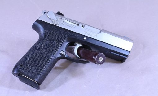"""Ruger P95 9mm 3.9"""" Stainless Finish 15rd with box"""