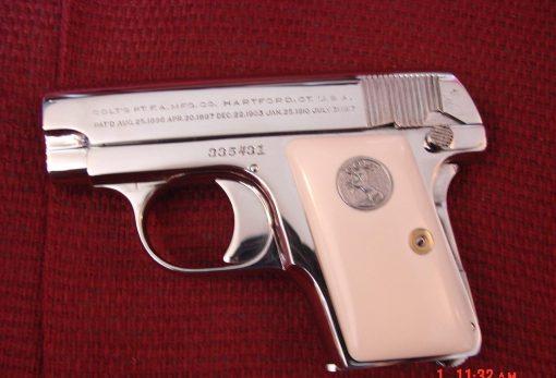 Colt 1908 Vest Pocket Hammerless,25 caliber