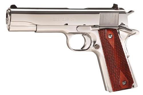 "Colt 1991 Govt 1911 38 Super 5"" Barrel Rosewood Grip 9rd Mag"