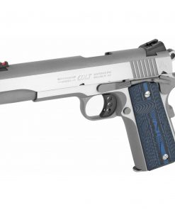"Colt Series 70 Competition SS 45 ACP, 5"" Match Barrel, Novak Sights, G-10 Blue Grips, 8rd Mag"